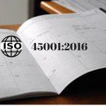 Calendario de implantación de ISO 45001:2016
