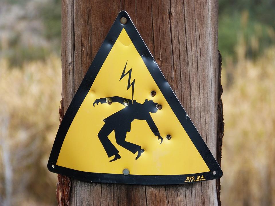 Riesgo eléctrico riesgos laborales