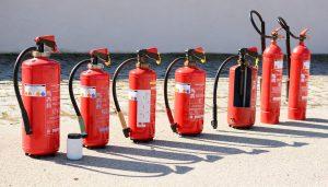 tipos de extintores cocina