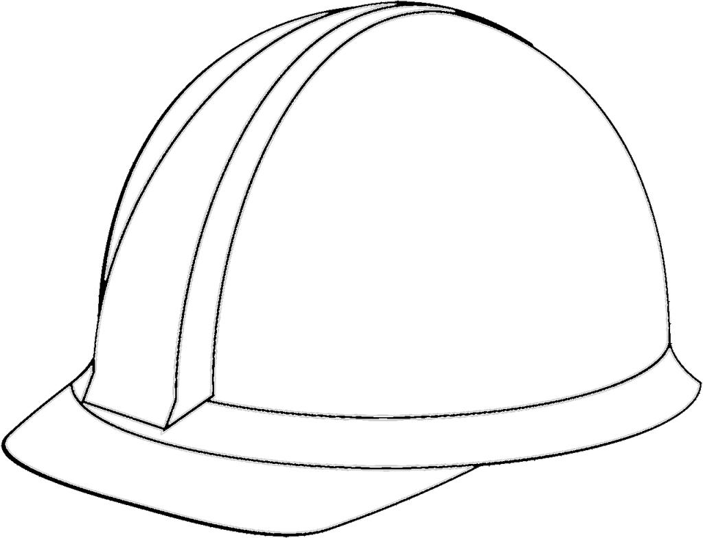 casco de seguridad blanco