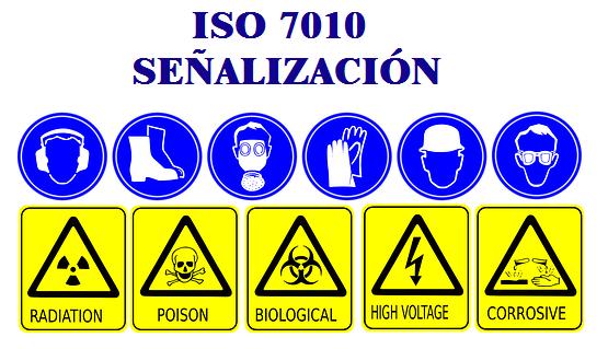señalizacion en los lugares de trabajo ISO 7011