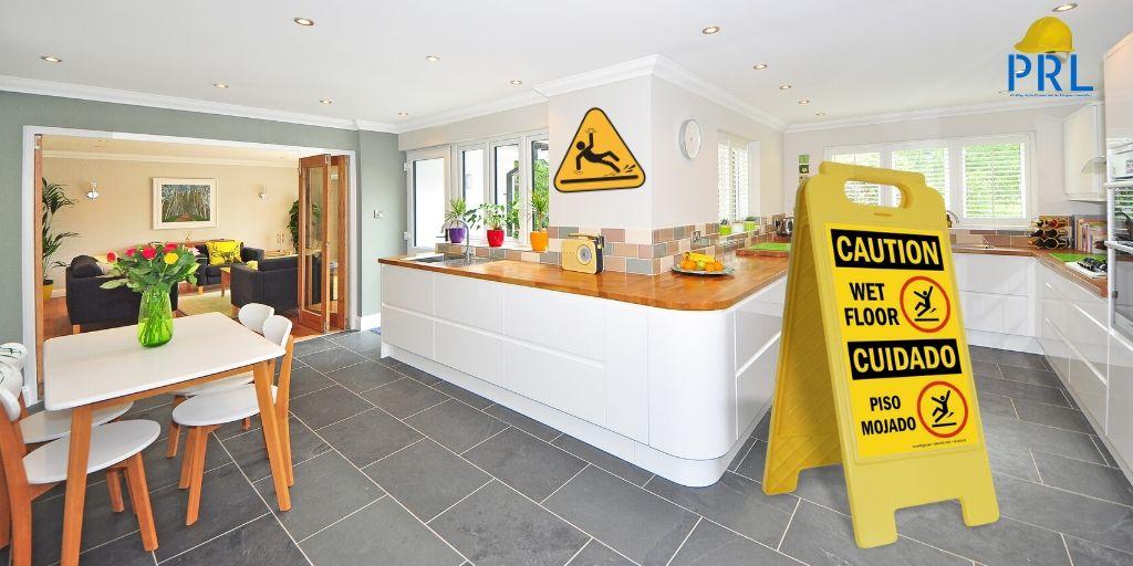 Seguridad en el suelo de la cocina
