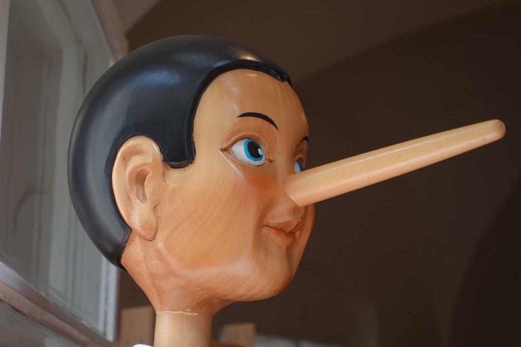 mentir en una auditoria de prevención