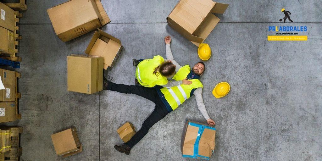 accidente de trabajo qué hacer