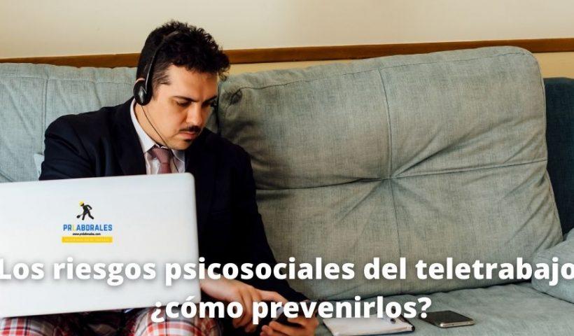 riesgos psicosociales teletrabajo