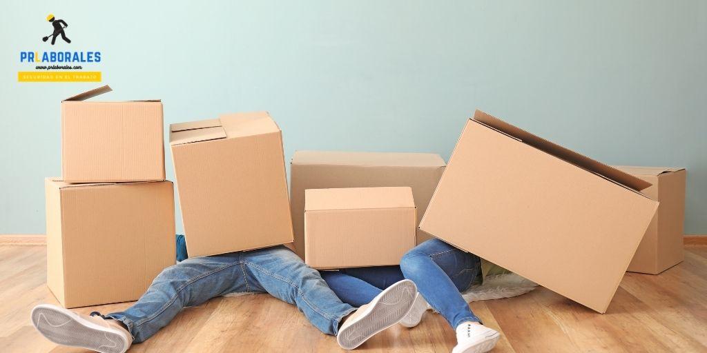 Atrapamientos riesgos en mudanzas