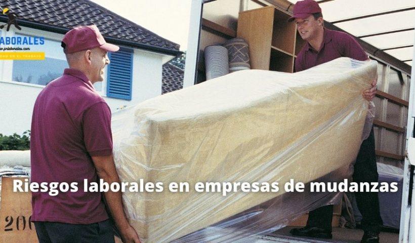Riesgos laborales en empresas de mudanzas