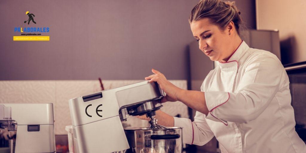 seguridad máquinas de cocina CE